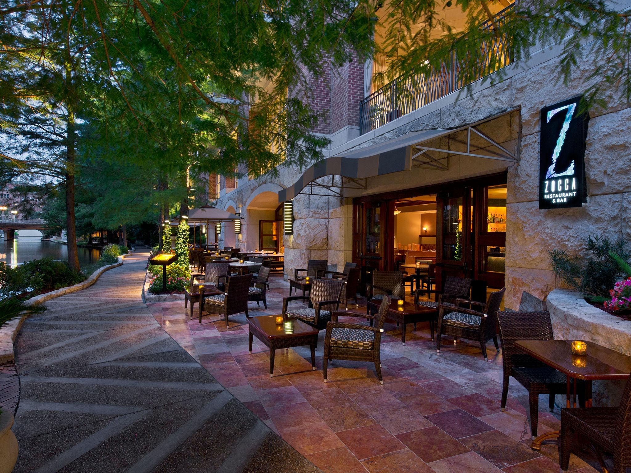 San Antonio Riverwalk Restaurants at The Westin